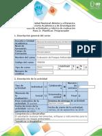 Guía de actividades  - Paso 2 - Planificar  Programadorevaluacion de riesgos