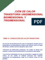 SEMANA 7 CONDUCCIÓN DE CALOR TRANSITORIA  CAP VII.ppt
