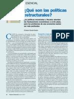 Abdel-Kader Qué son las políticas estructurales (2013)