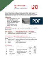 HD100 joint filler board - catalog-KAMPUN