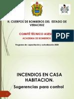 INCENDIOS EN CASA HABITACION