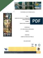 EJEMPLO DE CÁLCULO DE  COORDINACIÓN DE PROTECCIONES EN UNA INSTALACIÓN INDUSTRIAL