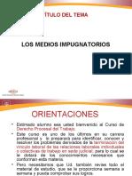 Derecho Procesal Del Trabajo, Los Medios Impugnatorios