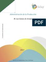 CUADERNILLO SEGUNDA UNIDAD ADMINISTRACIÓN DE LA PRODUCCIÓN