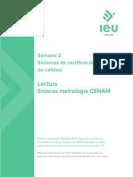 metrologia CENAM