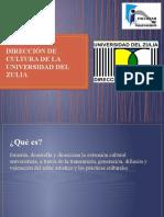 DIRECCIÓN DE CULTURA DE LA UNIVERSIDAD DEL ZULIA