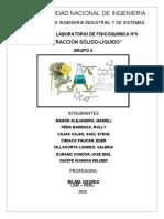 INFORME DE LABO GRUPO 4 formato solido liquido