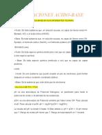 TITULACIONES ACIDO-BASE