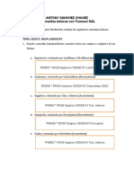 Consultas básicas con Transact SQL BD