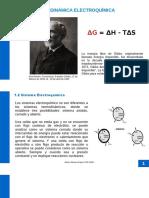 Unidad No.1-2 Termodinámica Electroquímica y Leyes Básicas
