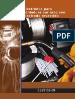 ELECTRODO PARA SOLDADURA POR ARCO DE SOLDADURA REVESTIDA