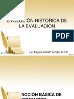 03 Evolucion Historica de La Evaluacion