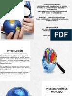 Investigacion y Selecion de Mercado