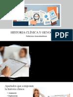 HISTORIA CLÍNICA Y GENOGRAMA