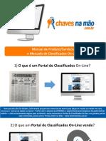 Manual de Produtos e Serviços e Mercado de Classificados