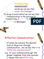 Introduction Communication Skills (Lecture# 1)
