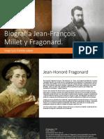 Biografía Jean-François Millet y Fragonard