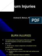 Burn Injuries- Andrew