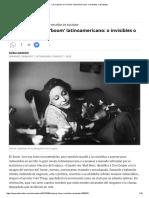 Las mujeres en el 'boom' latinoemericano_ o invisibles o asistentas