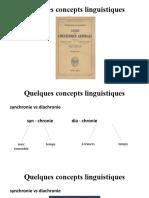 CM2 - Quelques concepts linguistiques