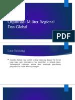 Organsasi Militer Global REGIONAL