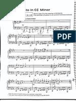 Jazz Ostinato in C#minor