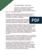 ESCOLA CLÁSSICA DE ADMINISTRAÇÃO