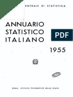 Annuario Statistico Italiano 1955