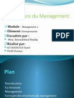 La Structure du Management