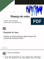 PPT SEMANA 9  MANEJO DE REDES