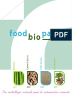 Catalogue Food Bio Pack
