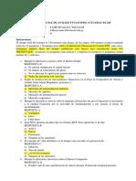 I Exam de Análisis Financiero Actuarial