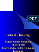 higher order thinking.ppt