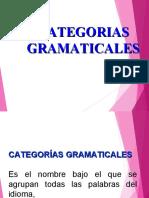 CATEGORIA GRAMATICALES VARIOS GRADOS [Autoguardado]
