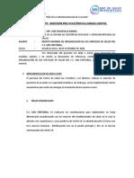 INFORME DE SAN CRISTOBAL