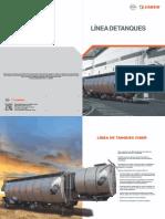LÍNEA DE TANQUES Fecha de publicación_ 2015 - n 2423001 Ciber Equipamentos Rodoviários Ltda.