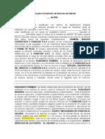 Contrato para la Prestación de Servicios de Internet V CONEXION SAS.docx