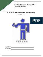 Cuadernillo Ingreso Epet Nº6_2021