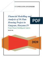 Financial modelling and analysis of 50 flats housing project Gurgaon, Haryana, IN).pdf