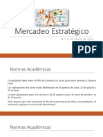 Mercadeo Estratégico sesión I y II 2020