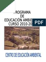 PROGRAMA DE E.A PARA ESCOLARES.2010-2011(2)