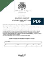 Prova - Araçatuba 2019 PEB I