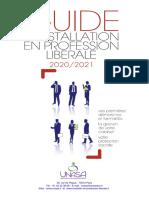 UNASA - Guide d'Installation Des Professions Libérales - 2020-2021
