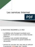 Les services Internet