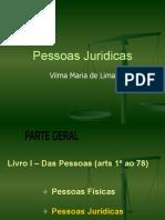 PESSOAS JURIDICAS