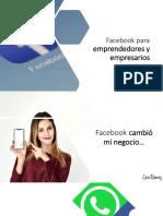 Facebook para emprendedores y empresarios
