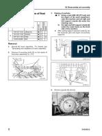 Desmontaje Mando Final D155AX-6