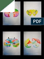 5ºC Projectos de Ilustração das Máscaras