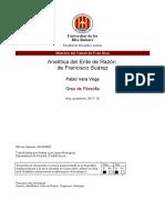 VERA, P Analítica del Ente de Razón de Francisco Suárez