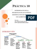 PRACTICA-10 estabilidad de los aceites
